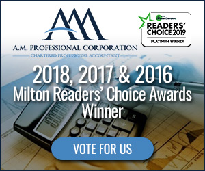 Thank you for Nominating us for 2019 Milton Readers' Choice Awards