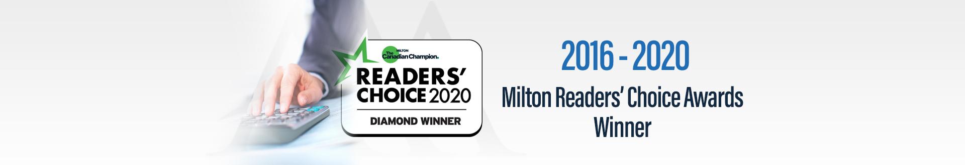 2016 to 2020 Award winner